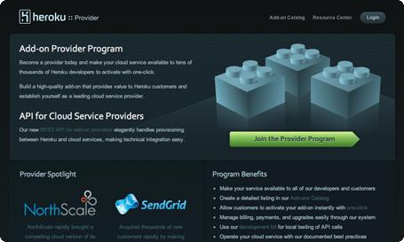 Heroku Provider Program